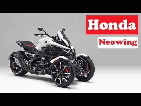 Honda Neowing, A Super Sports Bike With Three Wheels And It's A Trendy Hybrid
