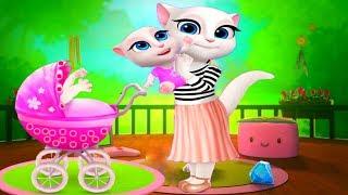 КАК БЫСТРО вырастить ГОВОРЯЩУЮ АНДЖЕЛУ #2 много зелий видео  для детей #УШАСТИК KIDS