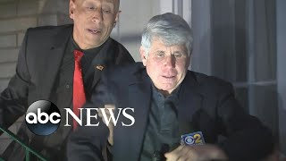 President Trump's pardon spree includes former Illinois governor l ABC