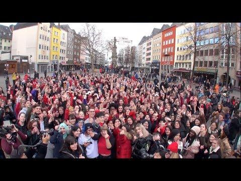 독일 퀼른에서 '케이팝의역사'를 주제로 열린 랜덤플레이댄스