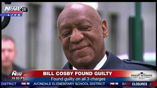 BREAKING: Bill Cosby Found Guilty On All 3 Charges (FNN)