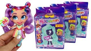 Hairdorables Dolls Unboxing Surprise Toys Hairdorables Opening Rayne Harmony and Bella Dolls