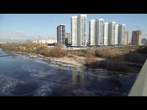 La pesca sul Fiume di Tom il video di regione di Kemerovo