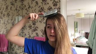 NO CUT EASY EMO/SCENE HAIR TUTORIAL