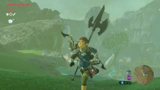 CHAMPIONS FESTIVAL Ceremonial Trident! The Legend of Zelda: Breath of the Wild