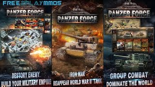 Panzer Force: Battle of fury Gameplay Android / iOS