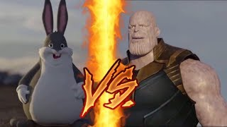Thanos Vs Big Chungus Th Clip