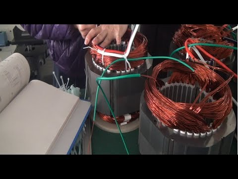 China Generators & Motors Manufacture Process - Discover Motor Production Line | Global Technology
