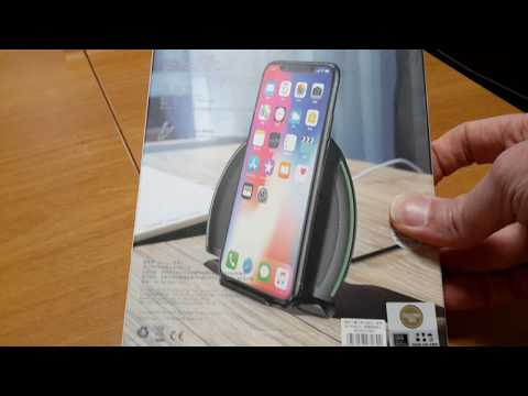 Baseus 10W Qi Wireless Fast Charger Pad Holder from BANGGOOD