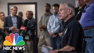 Governor Greg Abbott Gives The Timeline Of Texas Shooter's Massacre | NBC News