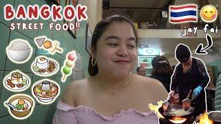 BEST STREET FOOD IN BANGKOK (Pumila sa Jay Fai!!! + Ikea) | Merienda Time