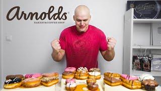 Arnolds Donut Menu [CC]