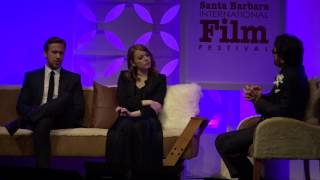SBIFF 2017  Ryan Gosling Discusses Working With Emma Stone