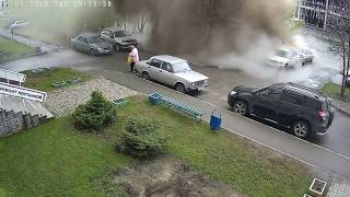 Смотреть онлайн Коммунальная авария произошла в Барнауле