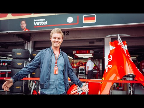 HOW FERRARI EXTRA POWER GOT VETTEL POLE (GERMAN F1 GP) | NICO ROSBERG | UNCUT