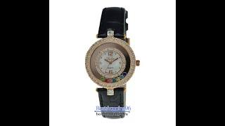 Видео обзор женских ювелирных часов VALERI 3628-KB