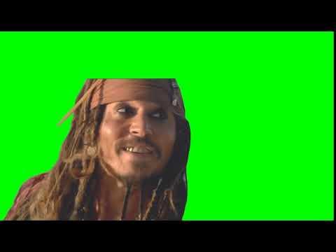 Джек Воробей - Смекаешь? (Green Screen Footage)