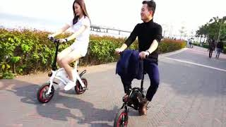 DYU D1F electric bike, lower price 250W easy ride electric bike foldable