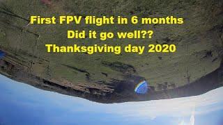 1st FPV Acro flight in 6 months