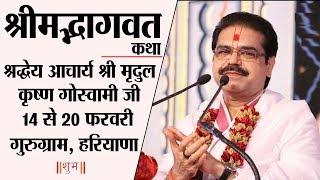 Shrimad Bhagwat Katha By PP. Mridul Krishna Goswami Ji - 20 February | Gurugram | Day 7