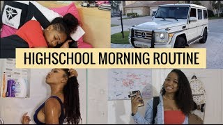 School Morning Routine 2018 | Dymondheartsbeauty