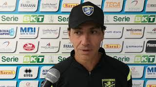 Intervist a Nesta dopo Pescara-Frosinone 0-2