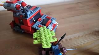 Лего зомби апокалипсис. Укрытие, зомби, брутальная тачка.