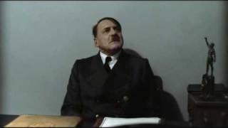 Hitler is informed hitlerrantsparodies has reached 1 million video views