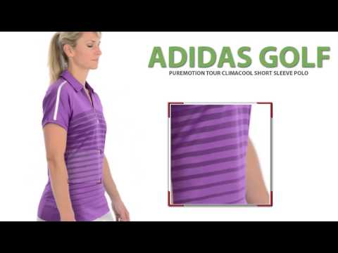 Adidas Golf Puremotion Tour ClimaCool® Polo Shirt - Short Sleeve (For Women)
