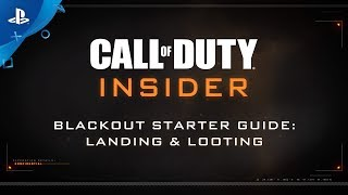 """Call of Duty: Black Ops 4 – Blackout """"Landing & Looting"""" 
