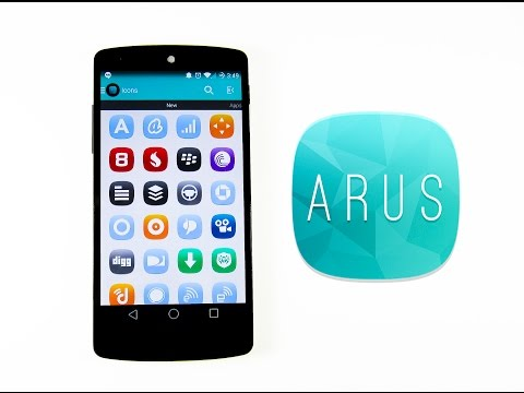 Video of Arus - Icon Pack