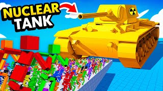 NEW 1,000,000 RAGDOLLS vs NUCLEAR POWERED TANK (Fun With Ragdolls: The Game Funny Gameplay)