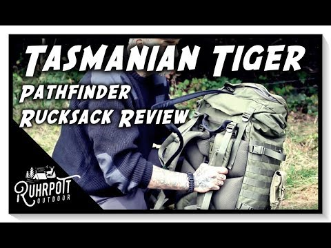"Tools & Gear – Tasmanian Tiger ""Pathfinder"" – Rucksack Review"