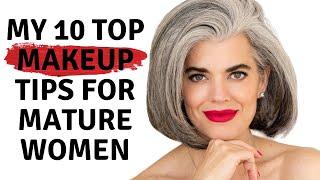 TOP 10 MAKEUP TIPS FOR MATURE WOMEN | Nikol Johnson