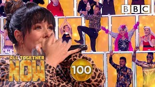 SHE GOT 100! Shellyann Smashes Sia's I'm Alive 🤯   BBC All Together Now 🎤