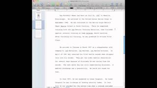 Quick Tip: How To Find Word Count Feature in Pages