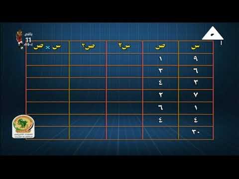 إحصاء 3 ثانوي ( مراجعة صباح الامتحان ) أ محمد حسن 10-06-2019