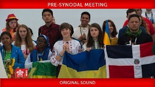 Pope Francis - Pre-Synodal Meeting on Young People 2018-03-19