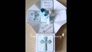 Godparent keepsake boxes
