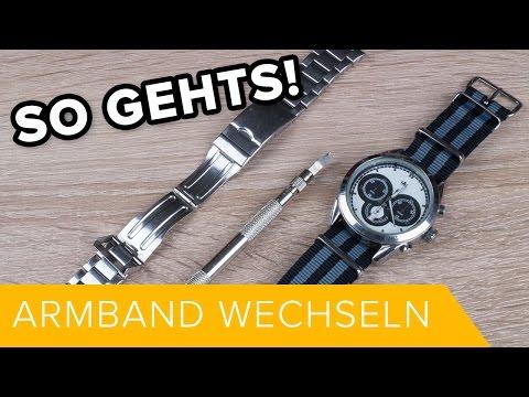 So Gehts: Ein Uhrenarmband wechseln // DEUTSCH // TUTORIAL#2 // HD