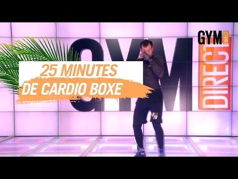 25 MINUTES DE CARDIO BOXE INTENSE  - GYM DIRECT