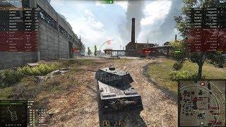 VK 168.01 Mauerbrecher, Промзона, Стандартный бой