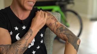Pro Triathlete Heather Jackson's tatoos