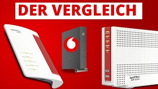 FritzBox 6660 Cable ODER FritzBox 6591 Cable ODER Vodafone Station? Vergleich der Flaggschiffe