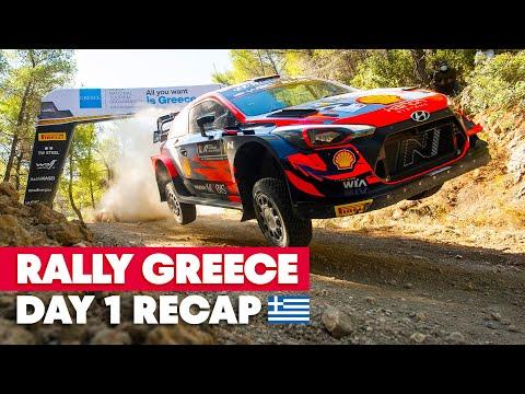 RedBull WRC 2021 ラリー・ギリシャ Day1ハイライト動画
