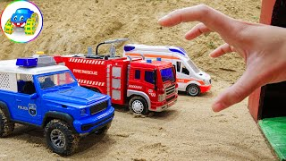 Rescue Cars That Was Swallowed By The Mysterious House - Kid Studio