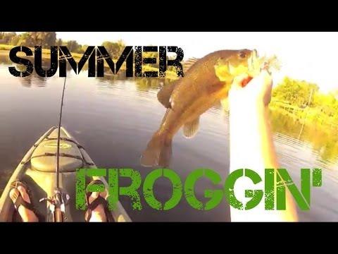 Bass Fishing- Summer Froggin' (2013)
