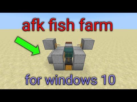 Minecraft Bedrock: WORKING Semi-AFK Fish Farm! No Auto