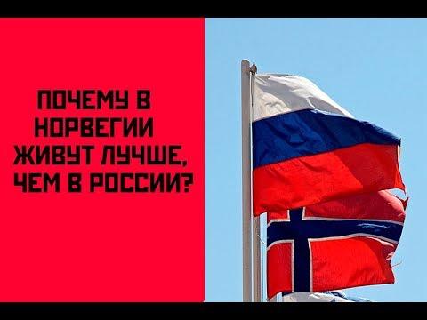 ПОЧЕМУ В НОРВЕГИИ ЖИВУТ ГОРАЗДО ЛУЧШЕ, ЧЕМ В РОССИИ?