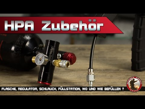 [Info] HPA Zubehör (Redline SFR Regulator, Ninja, PolarStar Fusion Engine) Airsoft German/Deutsch